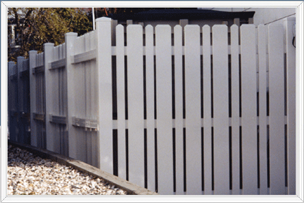 how to fix bent aluminum fence